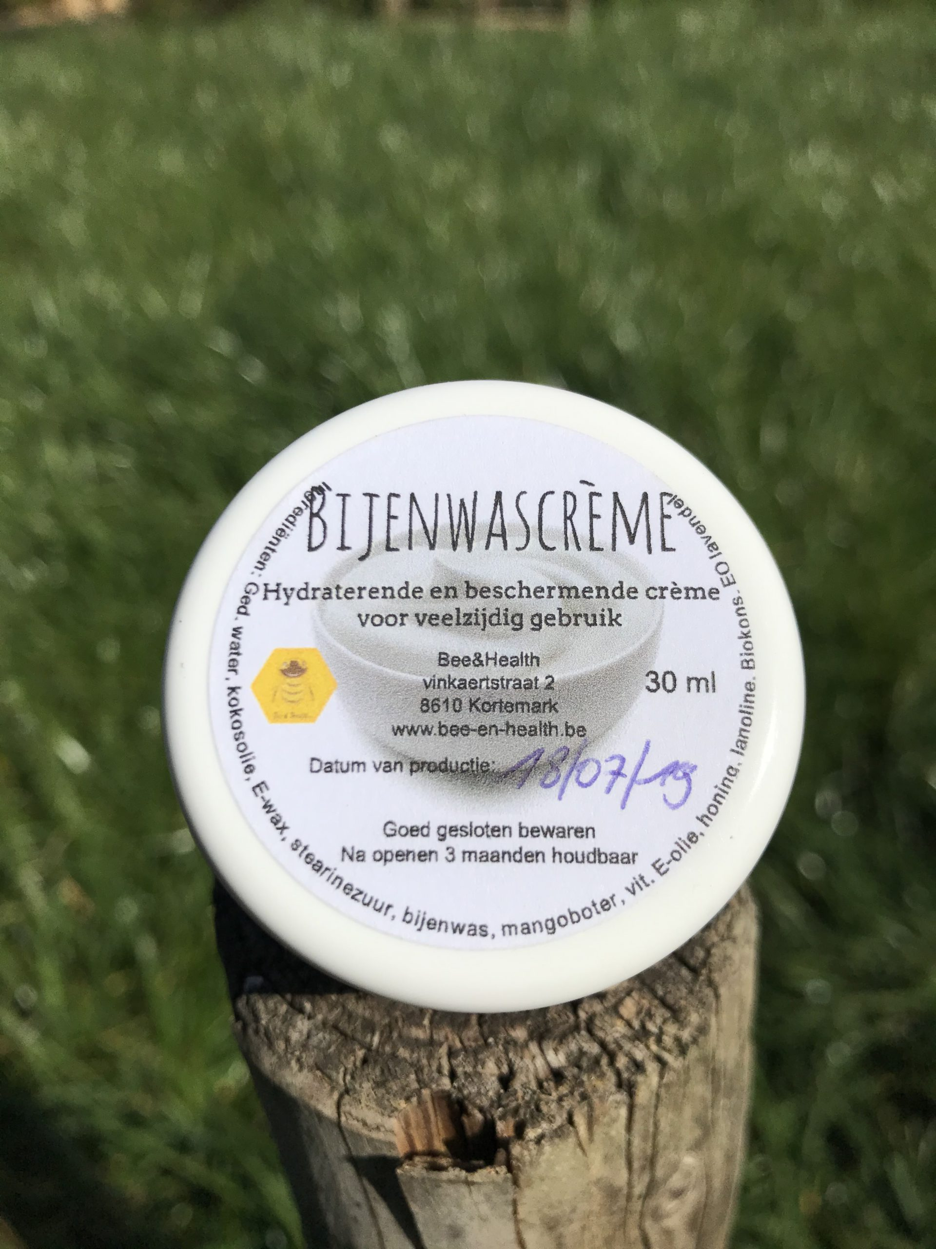 Bijenwascrème